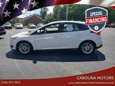 2015 Ford Focus for sale at CAROLINA MOTORS - Carolina Classics & More-Thomasville in Thomasville NC