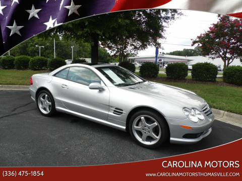 2003 Mercedes-Benz SL-Class for sale at CAROLINA MOTORS in Thomasville NC