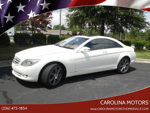 2010 Mercedes-Benz CL-Class for sale at CAROLINA MOTORS in Thomasville NC
