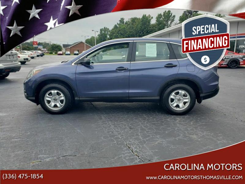 2013 Honda CR-V for sale at CAROLINA MOTORS - Carolina Classics & More-Thomasville in Thomasville NC