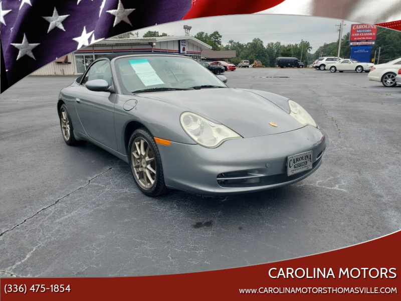 2004 Porsche 911 for sale at CAROLINA MOTORS in Thomasville NC