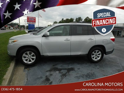 2011 Toyota Highlander for sale at CAROLINA MOTORS - Carolina Classics & More-Thomasville in Thomasville NC