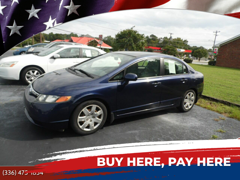 2006 Honda Civic for sale at CAROLINA MOTORS - Carolina Classics & More-Thomasville in Thomasville NC