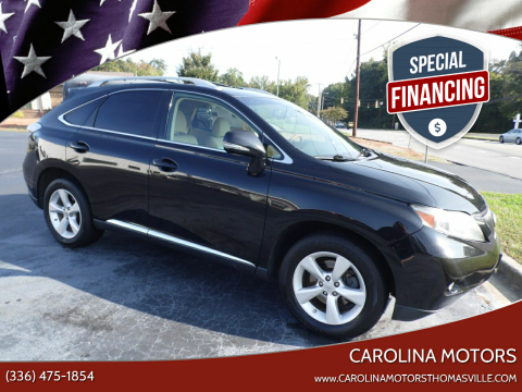 2010 Lexus RX 350 for sale at CAROLINA MOTORS in Thomasville NC