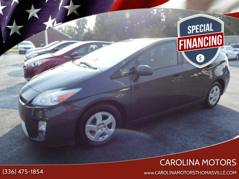 2011 Toyota Prius for sale at CAROLINA MOTORS in Thomasville NC