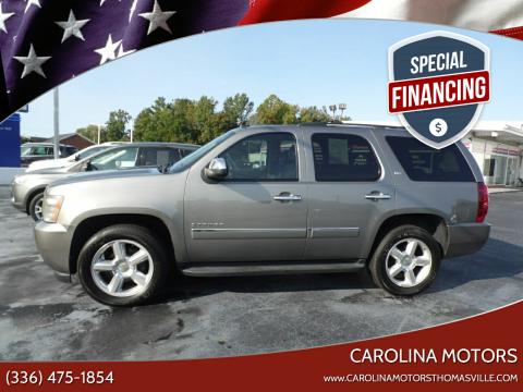 2009 Chevrolet Tahoe for sale at CAROLINA MOTORS - Carolina Classics & More-Thomasville in Thomasville NC