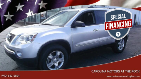 2011 GMC Acadia for sale at CAROLINA MOTORS in Thomasville NC