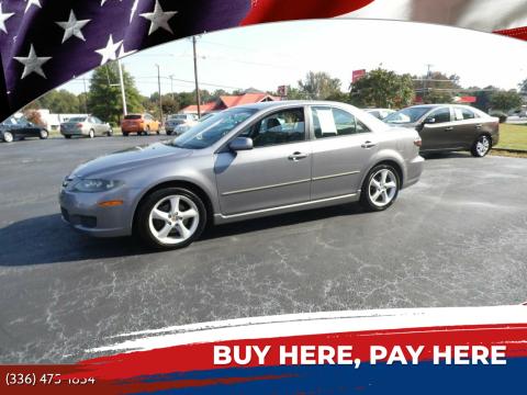 2007 Mazda MAZDA6 for sale at CAROLINA MOTORS in Thomasville NC