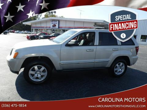 2010 Jeep Grand Cherokee for sale at CAROLINA MOTORS in Thomasville NC