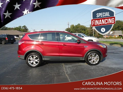 2014 Ford Escape for sale at CAROLINA MOTORS - Carolina Classics & More-Thomasville in Thomasville NC