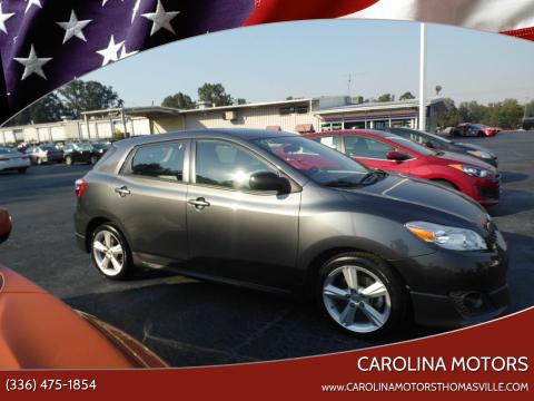 2009 Toyota Matrix for sale at CAROLINA MOTORS - Carolina Classics & More-Thomasville in Thomasville NC