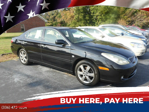 2006 Lexus ES 330 for sale at CAROLINA MOTORS in Thomasville NC