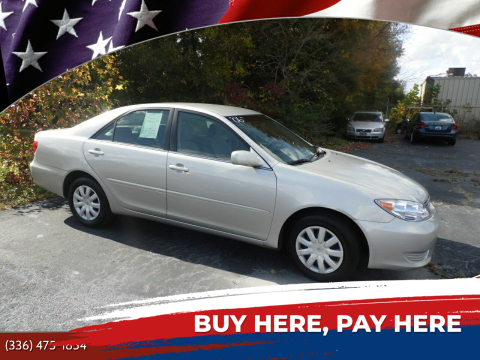 2006 Toyota Camry for sale at CAROLINA MOTORS in Thomasville NC