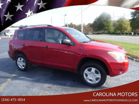 2007 Toyota RAV4 for sale at CAROLINA MOTORS in Thomasville NC