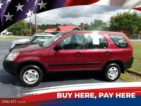 2004 Honda CR-V for sale at CAROLINA MOTORS - Carolina Classics & More-Thomasville in Thomasville NC