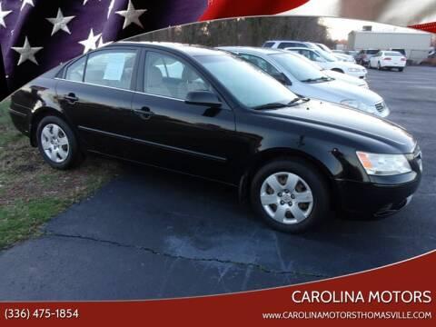 2010 Hyundai Sonata for sale at CAROLINA MOTORS in Thomasville NC