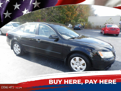 2010 Hyundai Sonata for sale at CAROLINA MOTORS in Thomasville NC