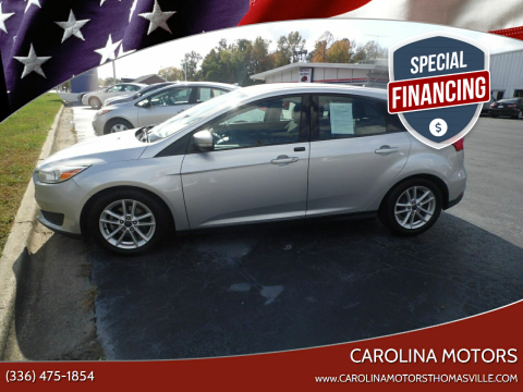 2016 Ford Focus for sale at CAROLINA MOTORS in Thomasville NC