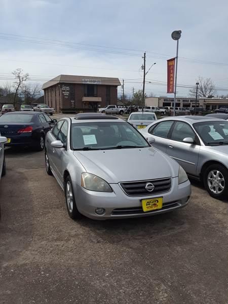 2003 Nissan Altima 3.5 SE 4dr Sedan   South Houston TX