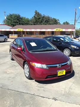 2008 Honda Civic for sale in South Houston, TX