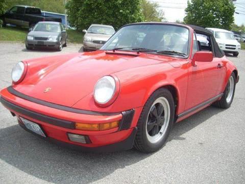 1987 Porsche 911 for sale at SODA MOTORS AUTO SALES LLC in Newport RI