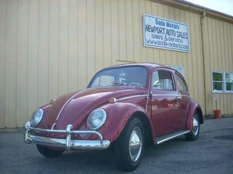 1964 Volkswagen Beetle for sale at SODA MOTORS AUTO SALES LLC in Newport RI