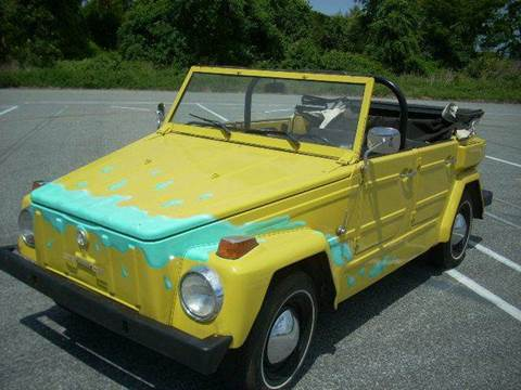1974 Volkswagen Thing for sale at SODA MOTORS AUTO SALES LLC in Newport RI
