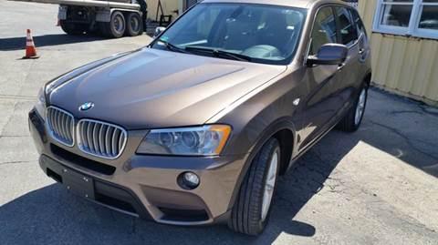 2011 BMW X3 for sale at SODA MOTORS AUTO SALES LLC in Newport RI