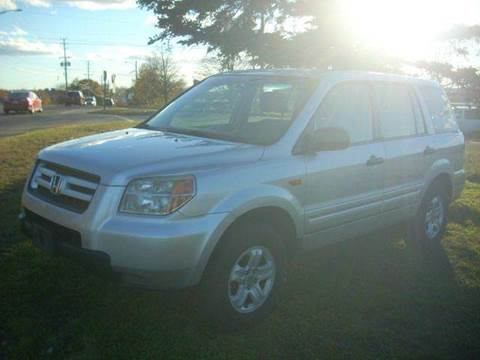 2006 Honda Pilot for sale at SODA MOTORS AUTO SALES LLC in Newport RI