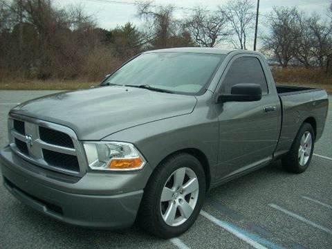 2011 RAM Ram Pickup 1500 for sale at SODA MOTORS AUTO SALES LLC in Newport RI