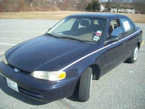 2001 Chevrolet Prizm for sale in Newport, RI