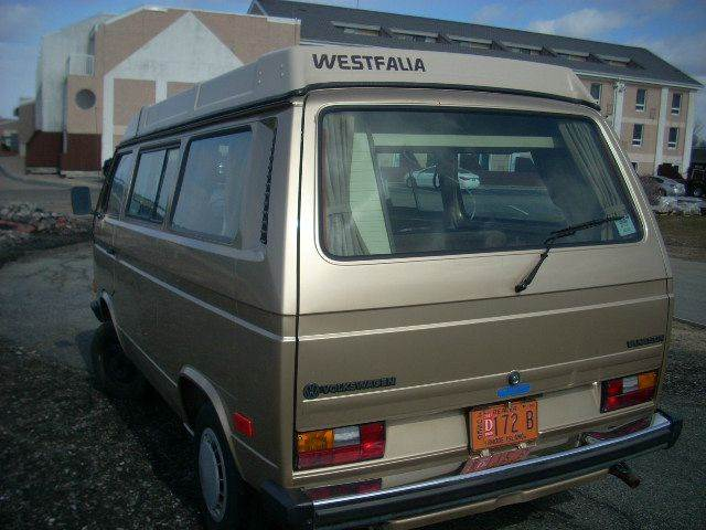 1986 Volkswagen Vanagon Gl Camper 3dr Mini Van In Newport Ri Soda