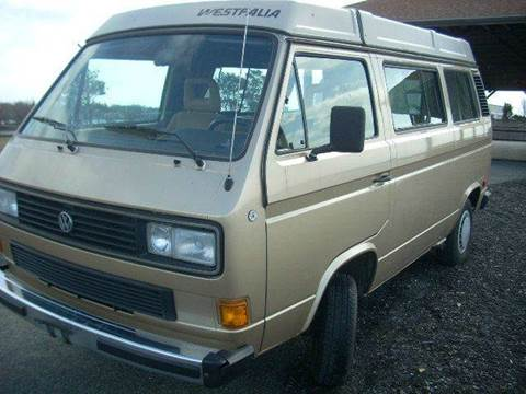 1986 Volkswagen Vanagon for sale at SODA MOTORS AUTO SALES LLC in Newport RI