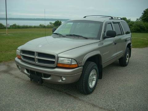 2000 Dodge Durango for sale at SODA MOTORS AUTO SALES LLC in Newport RI