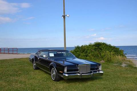 1973 Lincoln Mark IV for sale at SODA MOTORS AUTO SALES LLC in Newport RI