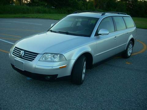 2004 Volkswagen Passat for sale at SODA MOTORS AUTO SALES LLC in Newport RI