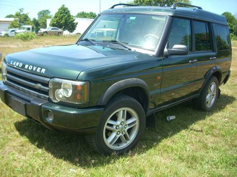 2003 Land Rover Discovery for sale at SODA MOTORS AUTO SALES LLC in Newport RI