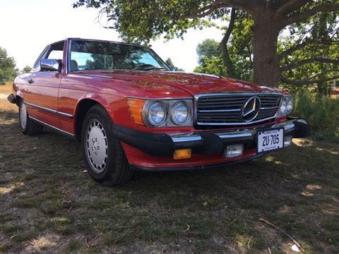 1988 Mercedes-Benz 560-Class for sale at SODA MOTORS AUTO SALES LLC in Newport RI