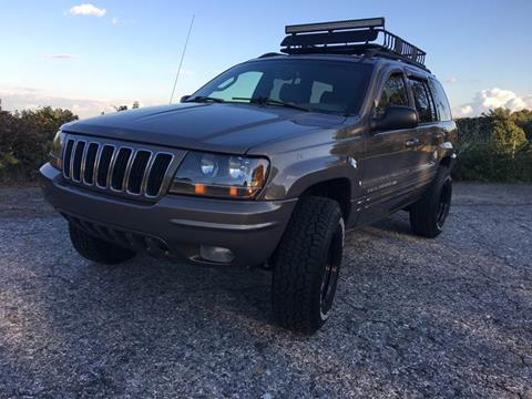 2002 Jeep Grand Cherokee for sale at SODA MOTORS AUTO SALES LLC in Newport RI