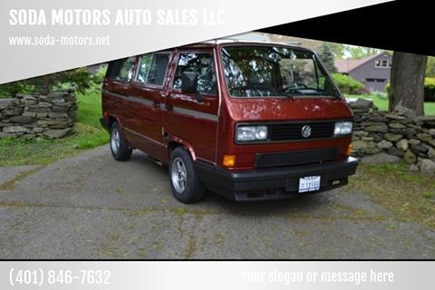 1988 Volkswagen Vanagon for sale in Newport, RI