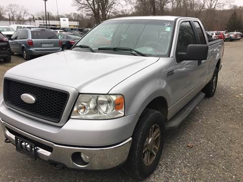 2006 Ford F-150 for sale at SODA MOTORS AUTO SALES LLC in Newport RI