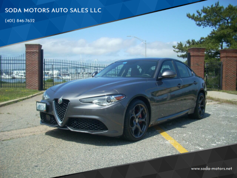 2017 Alfa Romeo Giulia for sale at SODA MOTORS AUTO SALES LLC in Newport RI