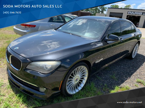 2011 BMW 7 Series for sale at SODA MOTORS AUTO SALES LLC in Newport RI