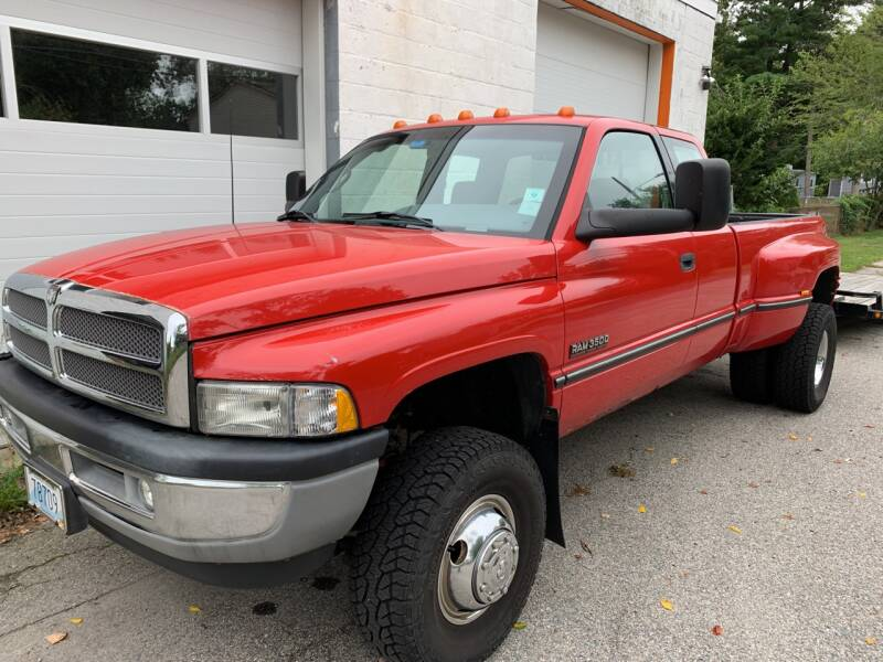 1996 Dodge Ram Pickup 3500 for sale at SODA MOTORS AUTO SALES LLC in Newport RI