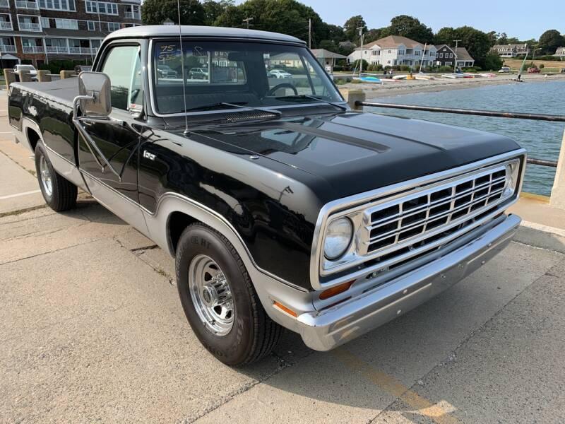 1975 Dodge D100 Pickup for sale at SODA MOTORS AUTO SALES LLC in Newport RI
