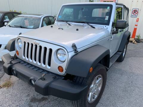 2011 Jeep Wrangler for sale at SODA MOTORS AUTO SALES LLC in Newport RI