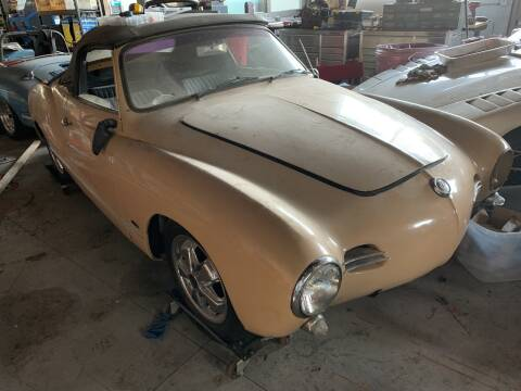 1959 Volkswagen Karmann Ghia for sale at SODA MOTORS AUTO SALES LLC in Newport RI