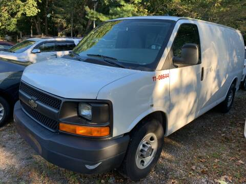 2012 Chevrolet Express Cargo for sale at SODA MOTORS AUTO SALES LLC in Newport RI