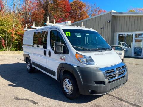 2017 RAM ProMaster Cargo for sale at Auto Towne in Abington MA
