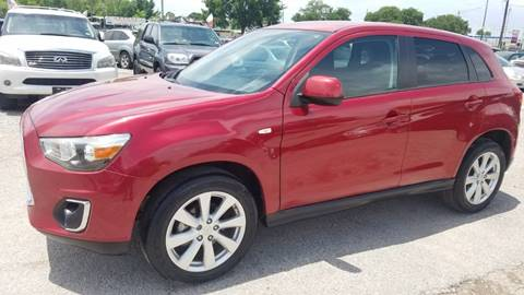 2015 Mitsubishi Outlander Sport for sale at Nation Auto Cars in Houston TX